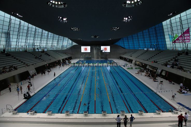 17 best ideas about london olympic park on pinterest - Queen elizabeth olympic park swimming pool ...