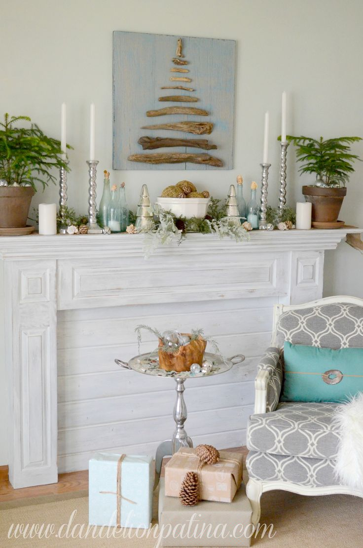 183 best Christmas-Beach Style images on Pinterest | Nautical ...