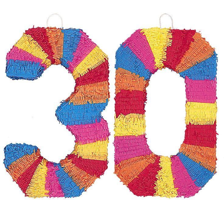 Pinata 30 Geburtstag