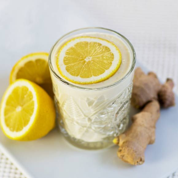 ingefära med citron