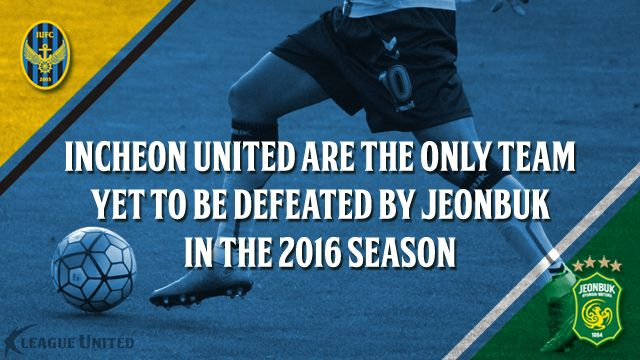 K League Classic Preview: Incheon United vs Jeonbuk Hyundai Motors Stat