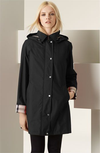 My black Burberry raincoat with removable lining.  Wearable in 3/4 of weather conditions.