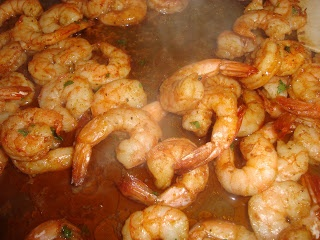 Best shrimp appetizer EVER! Been making for years - make sure to serve with crusty french bread or crostini so you can get all those yummy juices too! SEE Recipe below in the comment section.