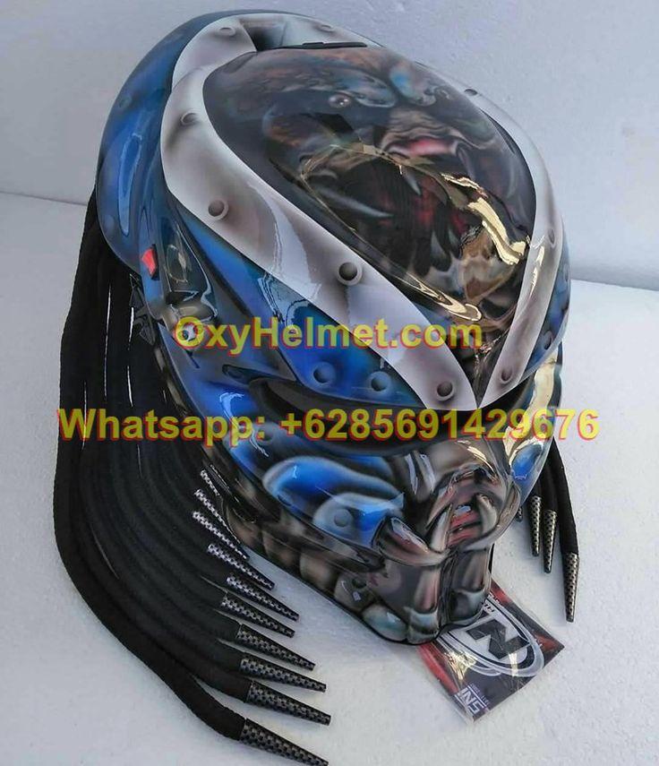 6285691429676 Predator Helmet Dubai Predator Motorcycle Helmet Ebay Predator Helmet Helmet Motorcycle Helmets