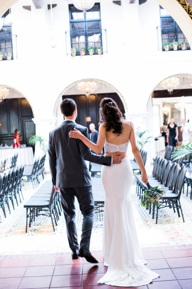Photography Salt & Sky Studios//Venue Ebell Long Beach//Veil Styled by TC//Bridesmaid Dresses Alfred Angelo//Coordination & Consulting Marisa Nicole Events//Catering Baked it Myself//DJ SoCal Mobile DJ//Doughnuts Donut Snob//Rentals 24/7 Events