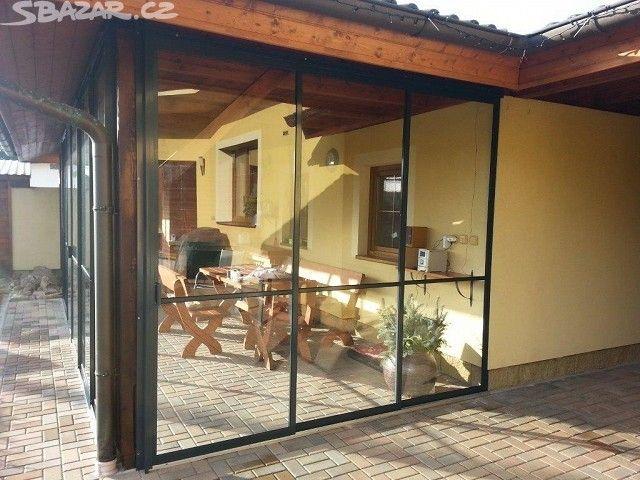 Posuvné zastřešení pergoly, verandy, - obrázek číslo 1