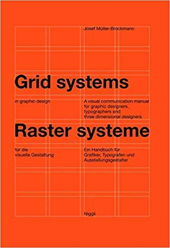 Grid Systems Joseph Muller Brockmann Grid System Web Design Basics Web Design Books