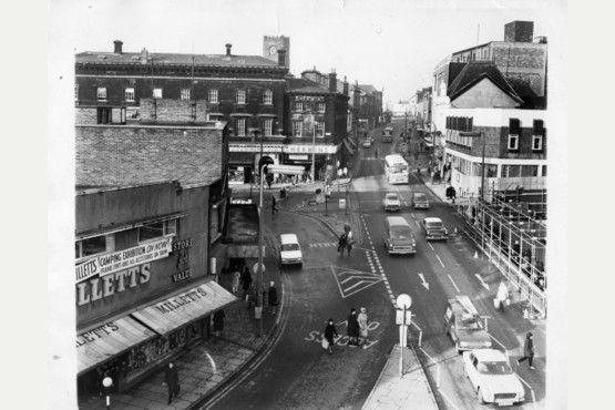 Town Road, Hanley in 1973.