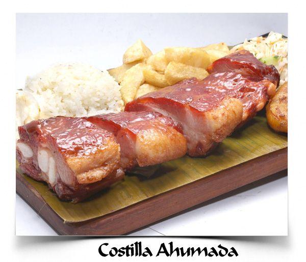 La Barra Restaurante - Costilla de Cerdo Ahumada #Cali #Colombia