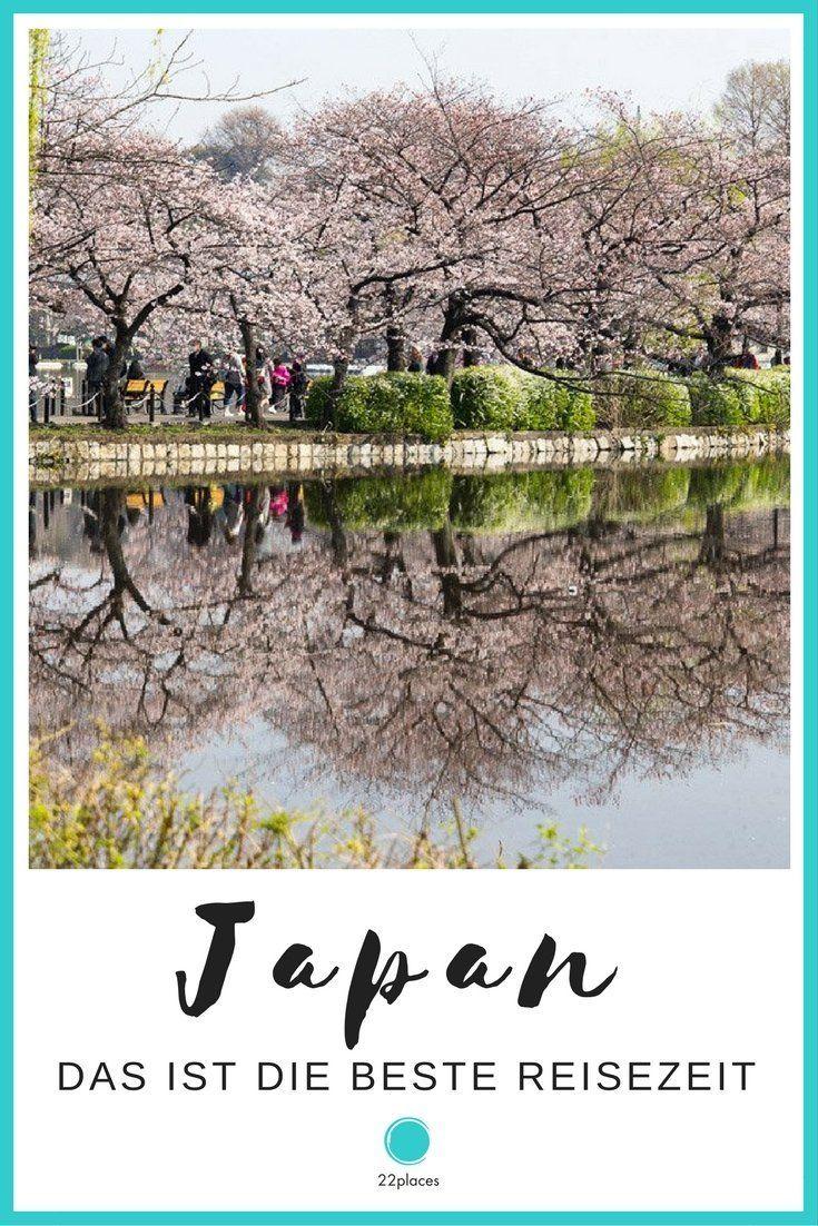 Die beste Reisezeit für Japan: Wann lohnt es sich am meisten, nach Japan zu reisen? Wir haben dazu einen ausführlichen Artikel geschrieben.