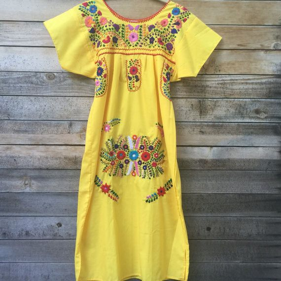Beautiful, hand-embroidered lightweight midi dresses that are perfect for summer photo ops, special events, or pulling off that effortless boho look. Pairs well with lace up gladiators and flower crow