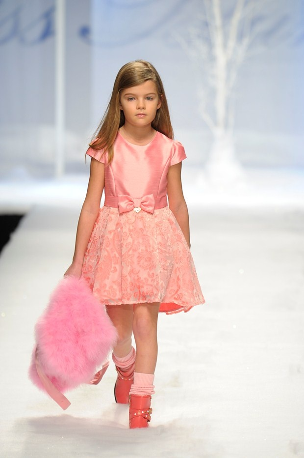 Miss Blumarine Pitti Bimbo report Autumn/Winter 2013-14 - Page 5 - Catwalk & designers - Junior