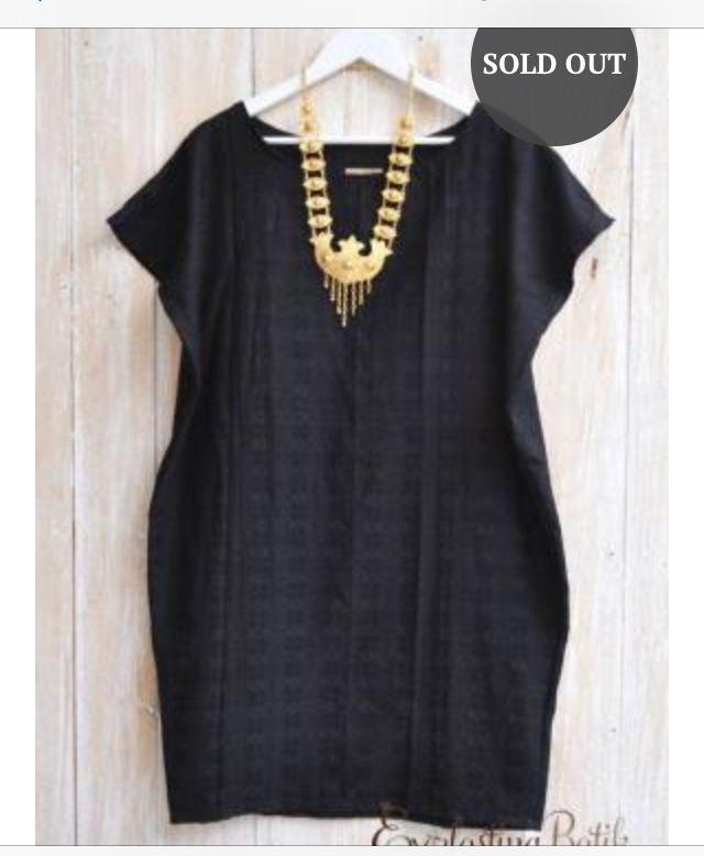 Batik dress from everlasting batik