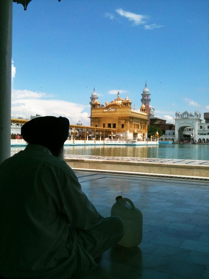 Golden Temple of the #Sikh (Harmandir Sahib) At #Amritsar, #Punjab, #India By zsombor nagy