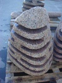 Gartenlampe aus Findling- Hoehe bis 60 cm-ab 150 Euro