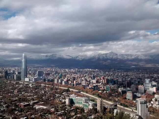 Gran foto de Santiago, tomada por Raúl Bernardo (Ruloma)