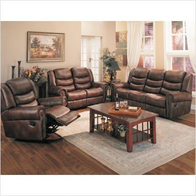 Bundle-86 Trenton Dual Reclining Faux Leather Sofa and Loveseat Set (3 Pieces) by Wildon Home. $2022.94. [***INCLUDED IN THIS SET: (1)Trenton Faux Leather Reclining Loveseat, (1)Trenton Dual Reclining Faux Leather Sofa, (1)Trenton Faux Leather Chaise Recliner] Features: -Limited time only! FREE Blue Lake Coffee Table by Wildon Home.-Trenton Dual Reclining Faux Leather Sofa and Loveseat Set.-Traditional style.-Attached back.-Durable leather like fabric.-Exterior...