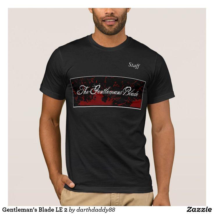 A lâmina LE 2 do cavalheiro Camiseta