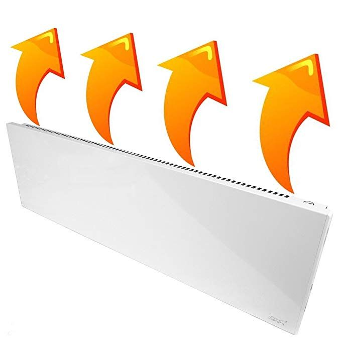 New Age Living Phantom 15 Wall Panel Heater 1100w Radiant Convection Heating Silent With No Moving Parts Tuv Ra Wall Paneling Heater Heating Radiator