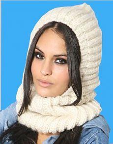 Шарф-капюшон. Этот вид шарфа -  модный тренд сезона осень-зима 2014-2015 годов. Он представляе / Вязание как искусство!