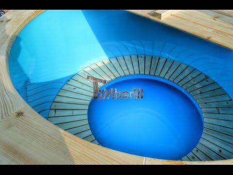 Kunststof Hottub Sparren Lariks Thermohout [Design] - TimberIN