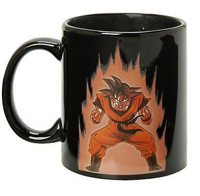 Collectible Dragon Ball Z Color Changing Coffee Mug Heat Reactive @ niftywarehouse.com