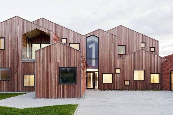 Zuhause unterm Satteldach - Kinderheim in Dänemark von CEBRA