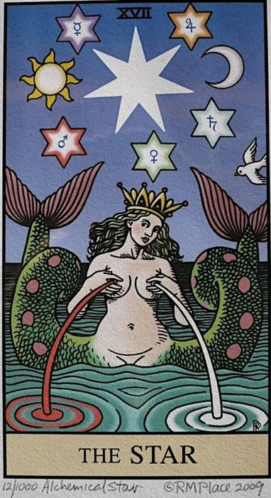 'The Star' - Card of Aquarius (my birth sign). For more about #Aquarius visit: www.theAstrologer.com/Aquarius