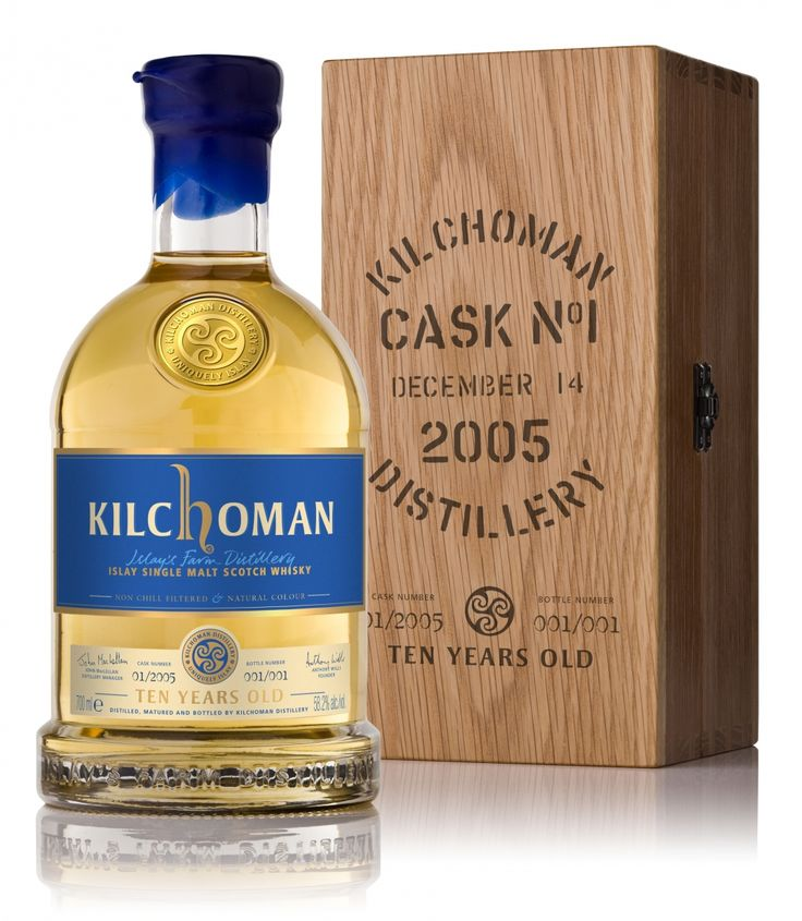The first ever 10 year old Kilchoman to be Auctioned for Charity   Kilchoman Distillery