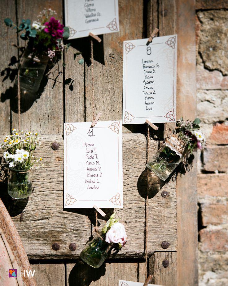 Vuoi un tableau de mariage d'effetto? Chiedi una consulenza alle migliori wedding planner su HappyWedding!