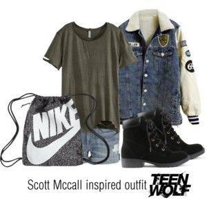 Scott Mccall inspired outfit/Teen Wolf