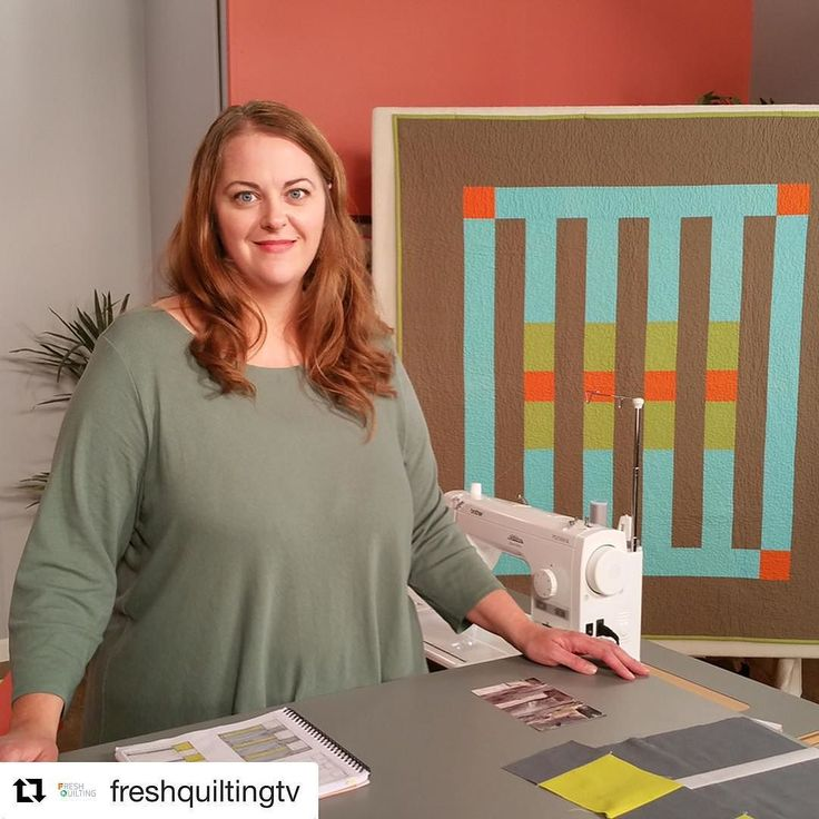 Check out the latest episode of Fresh Quilting! See more photos on the @freshquilting Instagram page. #modernquilting #modernquilts #showusyourmqg  #Repost @freshquiltingtv (@get_repost)  The latest episode of Fresh Quilting From Concept to Quilt is now streaming! In this episode @heatherjonesstudio uses a photo as inspiration for a quilt pattern and draws pattern pieces to create an abstract quilt. @karasews and @dontcallmebetsy talk more about planning successful quilt retreats and…