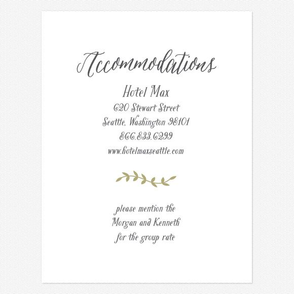 Rustic Nature Enclosure cards