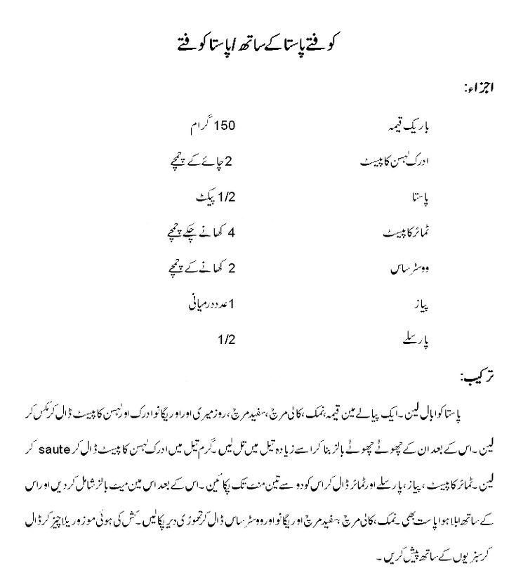 Simple Chicken Pasta Recipes In Urdu