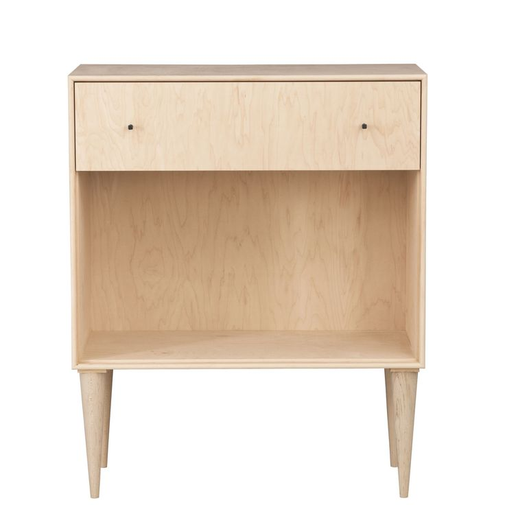 You'll love the Midcentury 1 Drawer Nightstand at AllModern - With Great Deals on modern Bedroom  products and Free Shipping on most stuff, even the big stuff.