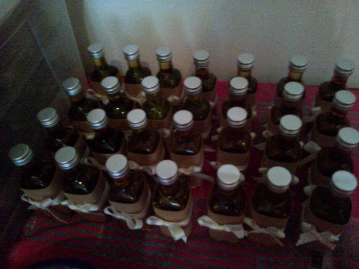 #bomboniera #homemade #olio aromatizzato