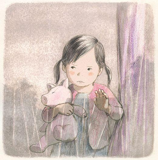 ぽっつんととはあめのおと_岡田千晶作品 Okada Chiaki