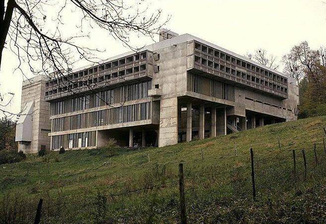 Le Corbusier; Sainte Marie de La Tourette, near Lyon, France, 1953-60