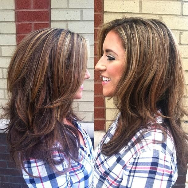 Add Some Color Hairstyles And Beauty Tips Hair Stuff