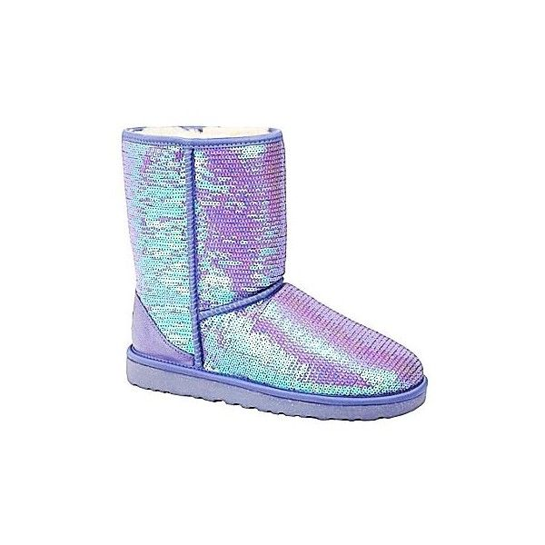 Sequin Sparkle Girls UGG Boots Luxury Sequin Sparkle Girls UGG Boots ❤ liked on Polyvore featuring shoes and boots