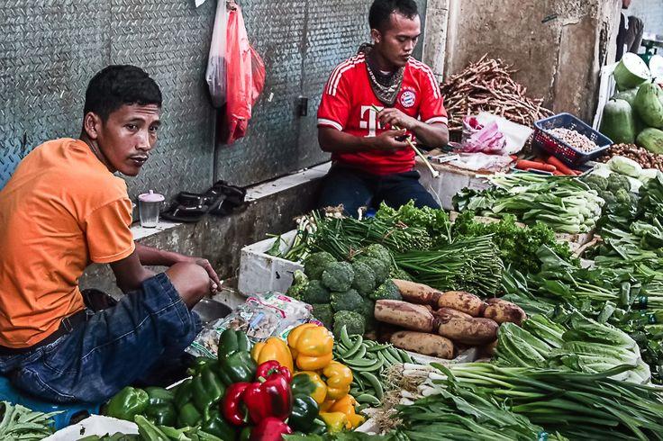 Traditional Market at Jakarta Kota