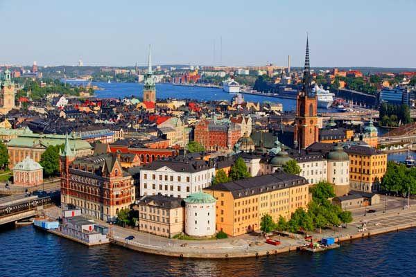 Gamla Stan  casco antiguo de Estocolmo contiene un estilo medieval