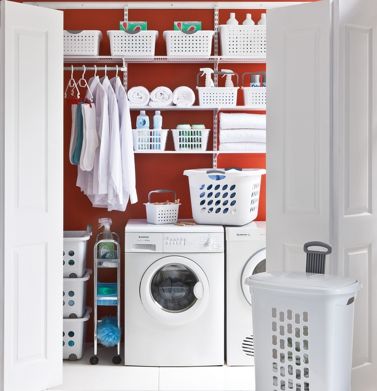 Elfa® Laundry, Specially Designed Components For The Laundry To Make Life  Easier. Available