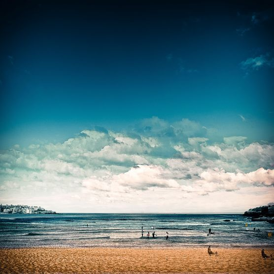 Late Afternoon at Bondi Beach