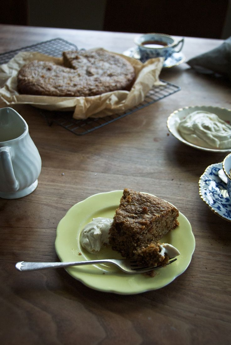 Grain Free Carrot & Date Cake with Lemon Cream Cheese Icing - Rusty Skillet Blog