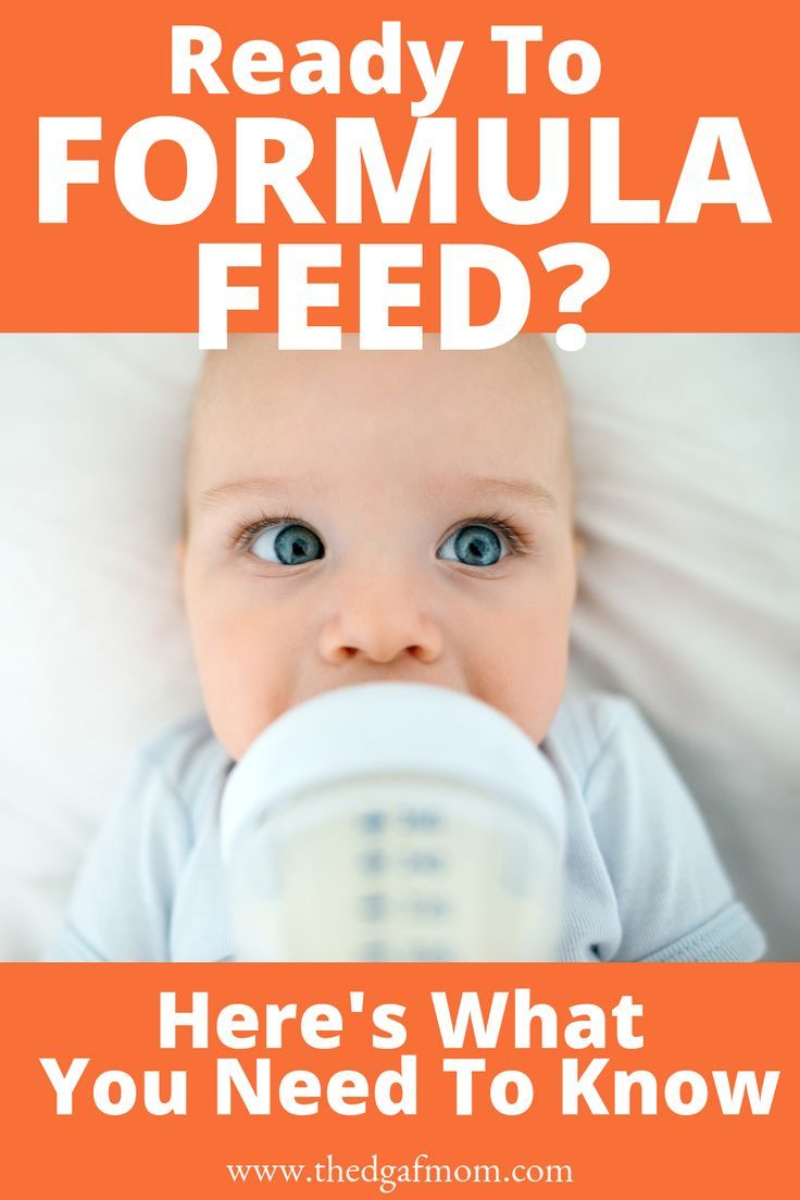 How To Get Baby To Take Formula After Breastfeeding