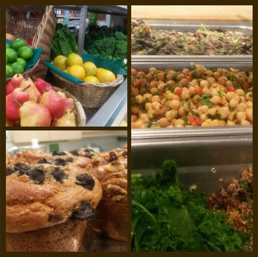 Noah's Natural Foods on Bloor & Spadina is a Meal Garden favourite. Mouthwatering vegan buffet served everyday! #EatcleanTO
