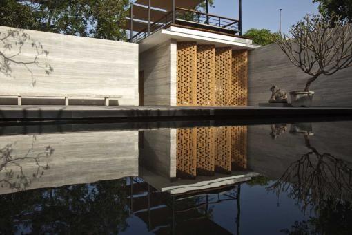 Amrita Shergil Marg House, by ERNESTO BEDMAR ARCHITECTS