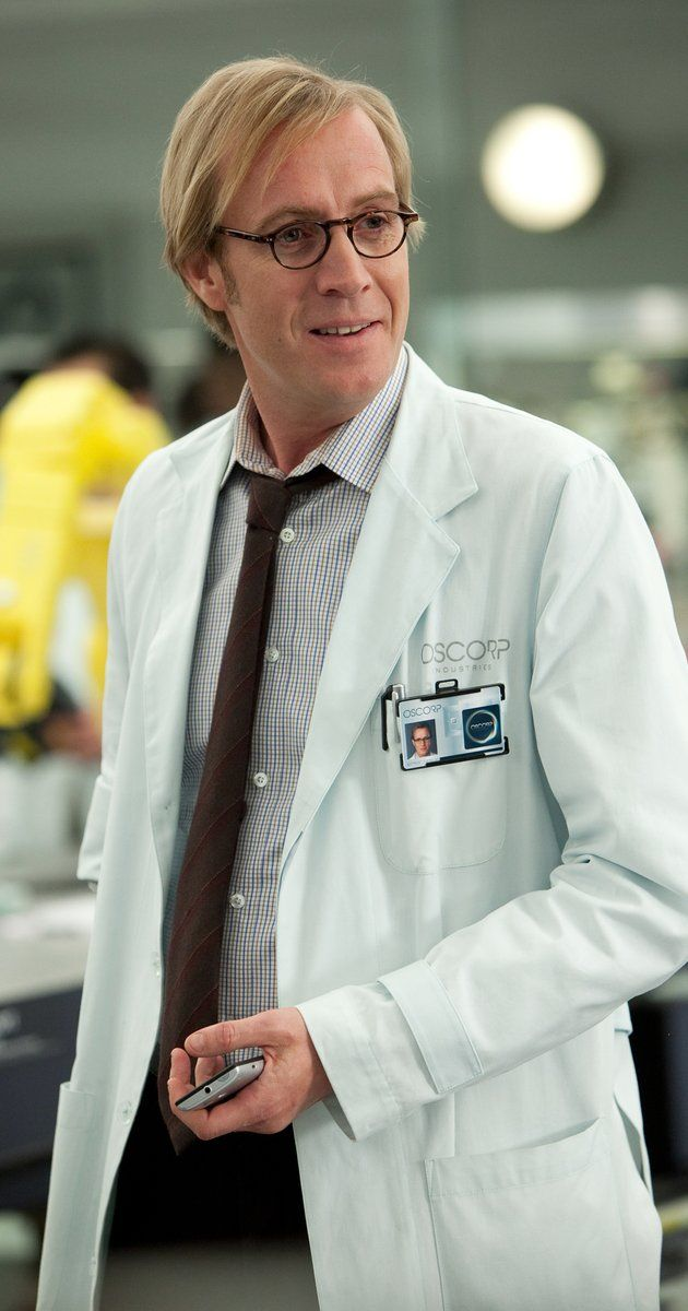 "Rhys Ifans as Dr. Curt Connors in ""The Amazing Spider-Man""."