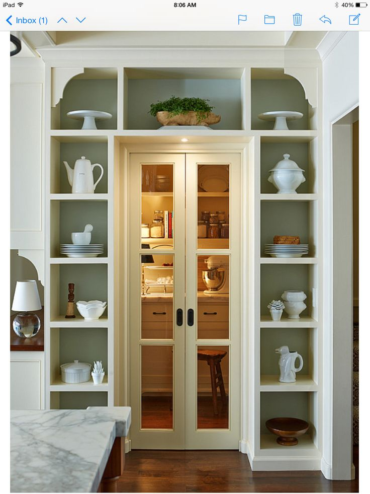 Pantry doors - Home Bunch